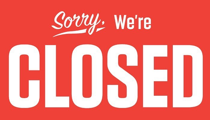 Our taproom & domes will be closed today due to having some heating issues. If y
