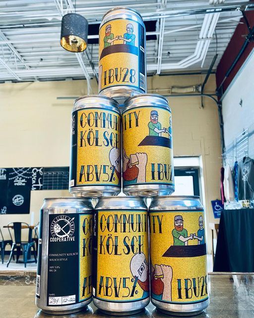 SURPRISE!!! Crowlers of our Community Kölsch are only $6 today! Community Kölsch